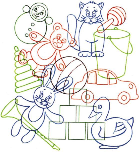 игры на развитие воображения для детей 4-5 лет