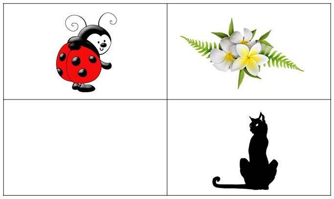 игры на развитие памяти для детей 4 - 6 лет - сетка памяти