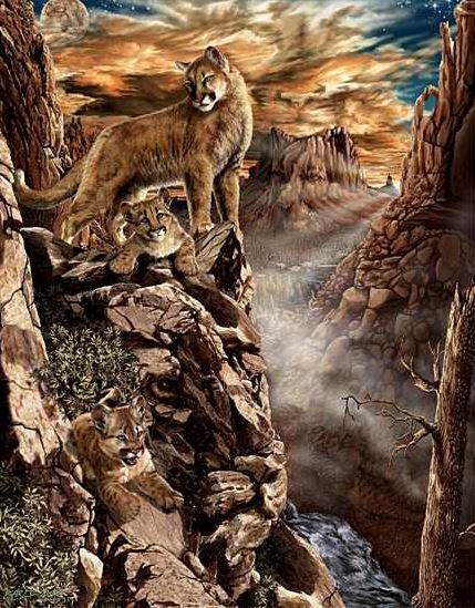 игры развивающие фантазию и воображение - найди зверей