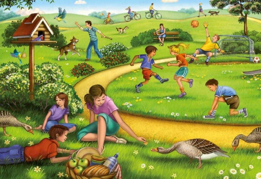 развиваем зрительную память играми у детей 4 - 6 лет