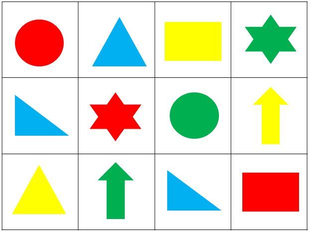 Как развить зрительную память у взрослых - с геометрическими фигурами