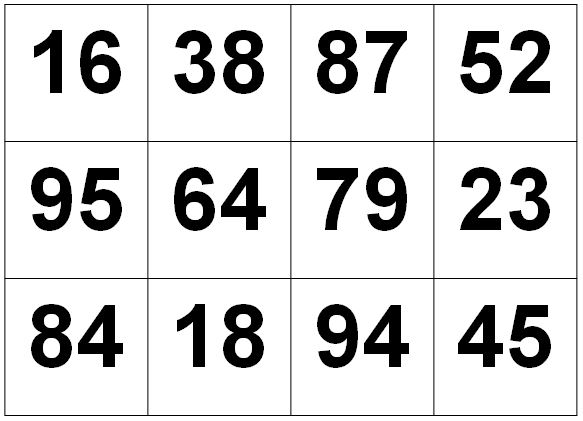 Как развить зрительную память у взрослых - цифры