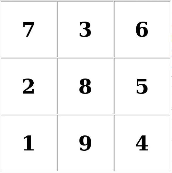 Таблицы Шульте онлайн тренажер - таблицы 3х3 для детей бесплатно
