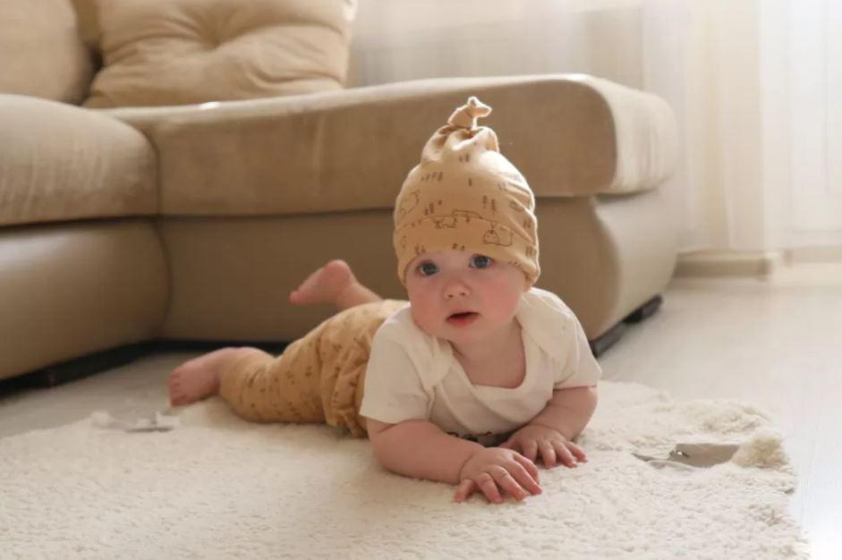 Развитие с рождения до года - 4 месяца