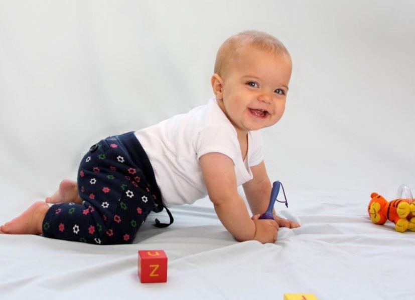 Развитие с рождения до года - 8 месяцев